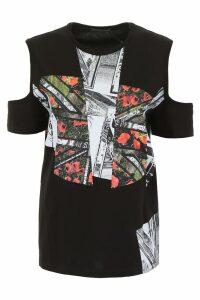 Alexander McQueen Patchwork T-shirt