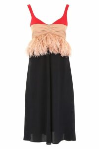 N.21 Feather Dress