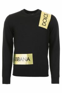 Dolce & Gabbana Pullover With Logo Bands