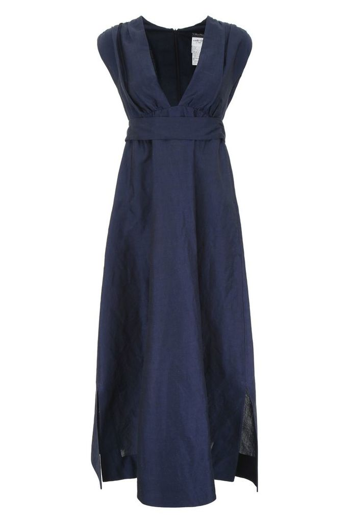 S Max Mara Here is The Cube Long Dress