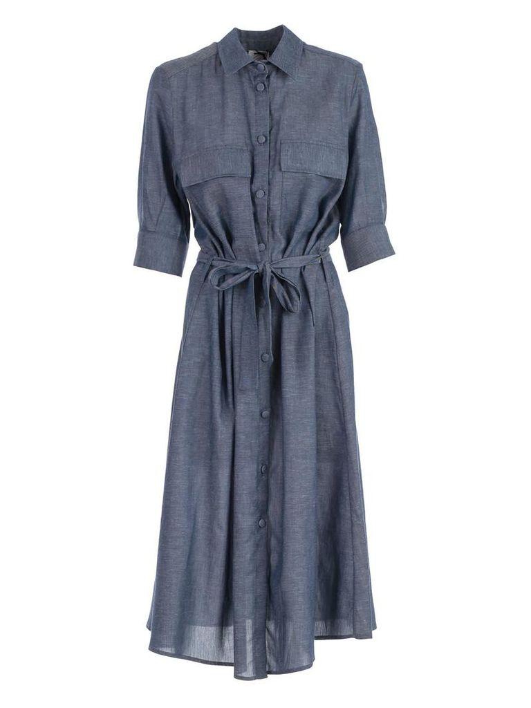 Ultrachic Belted Waist Dress