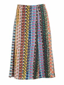 Paul Smith Printed Skirt