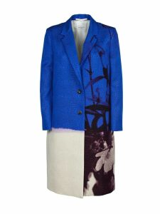 Dries Van Noten Color Block Coat