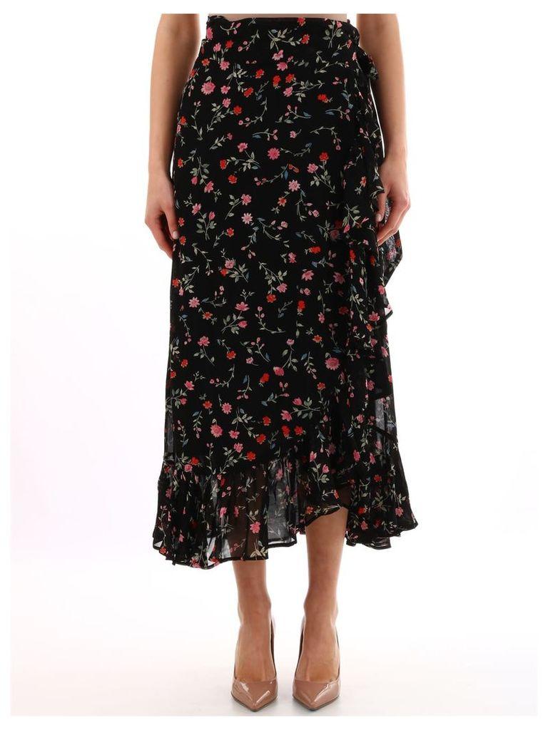 Ganni Wrap Skirt Black