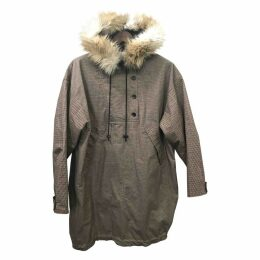 Camel Cotton Coat