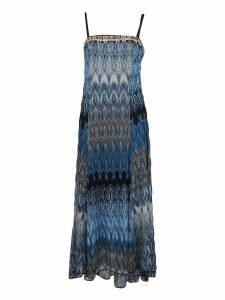 Missoni Patterned Evening Dress