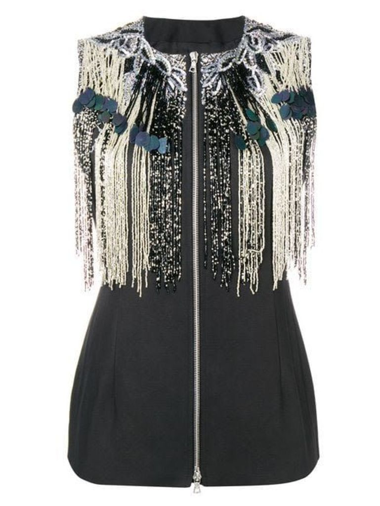 Dries Van Noten Fringed Top
