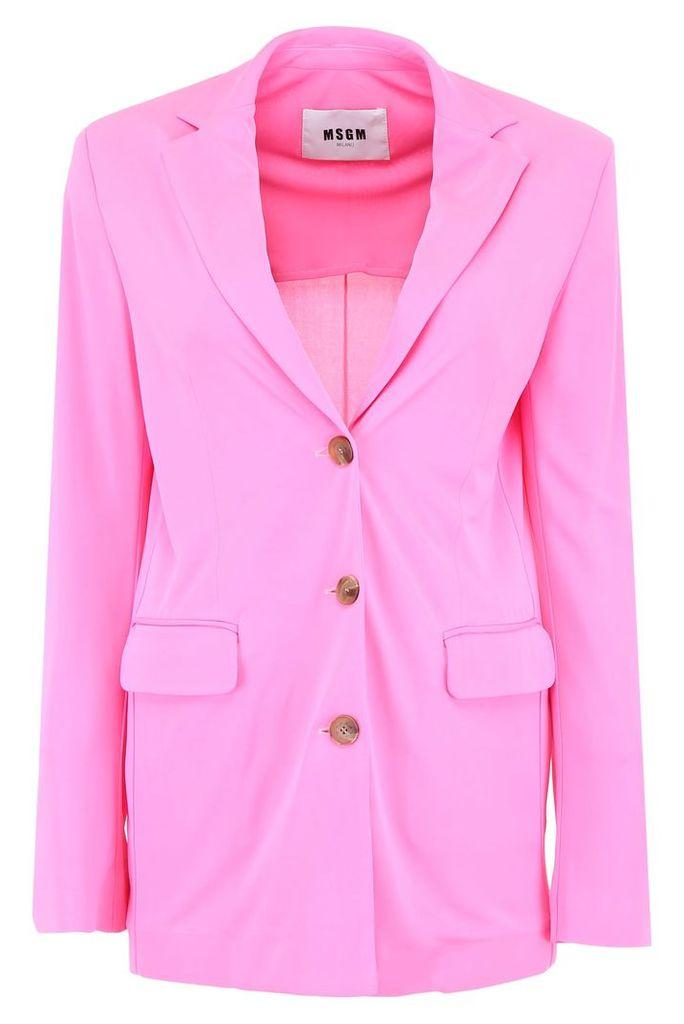 MSGM Jersey Blazer