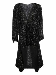 Attico Sequined Asymmetric Dress