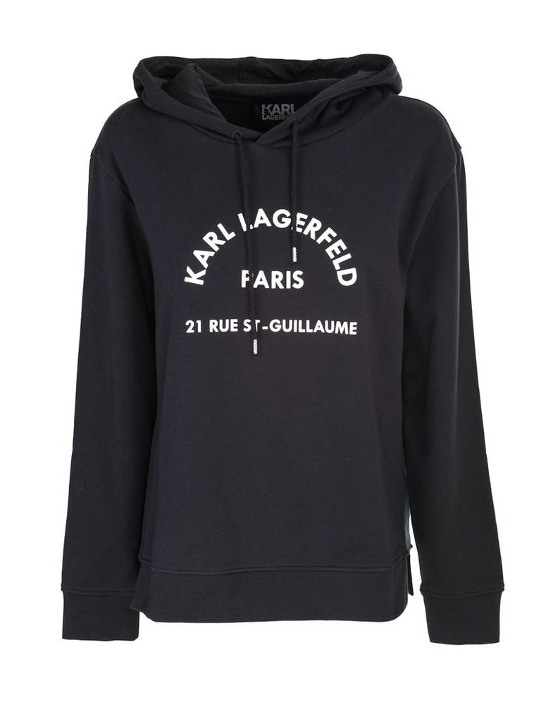 Karl Lagerfeld hooded sweatshirt