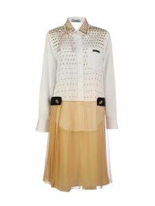 Prada Contrast Shirt Dress