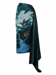 Dries Van Noten Asymmetric Printed Skirt