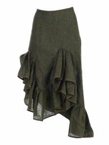 MarquesAlmeida Asymmetric Ruffle Skirt