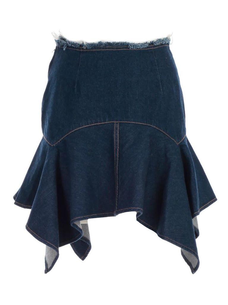 Marques'almeida Asymmetric Skirt