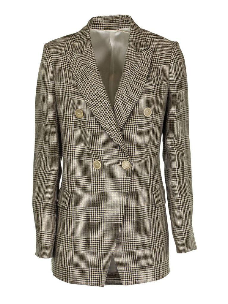 Brunello Cucinelli Classic Checked Blazer