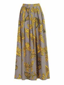 Ultrachic Butterfly Print Skirt