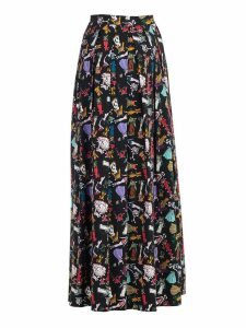 Ultrachic Cowgirl Print Skirt