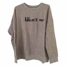 Grey Cotton Knitwear