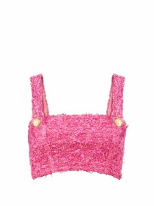 Zimmermann - Cowl Neck Silk Blend Blouse - Womens - Brown