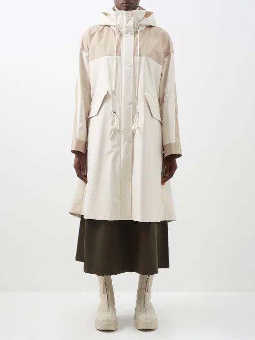 Mara Hoffman - Alessa Diamond Jacquard Midi Skirt - Womens - Yellow