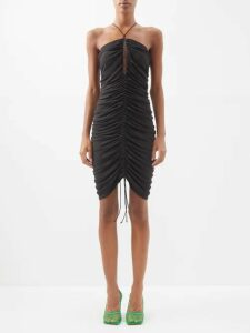 Dodo Bar Or - Dorothy Floral Print Tiered Cotton Maxi Dress - Womens - Orange Print