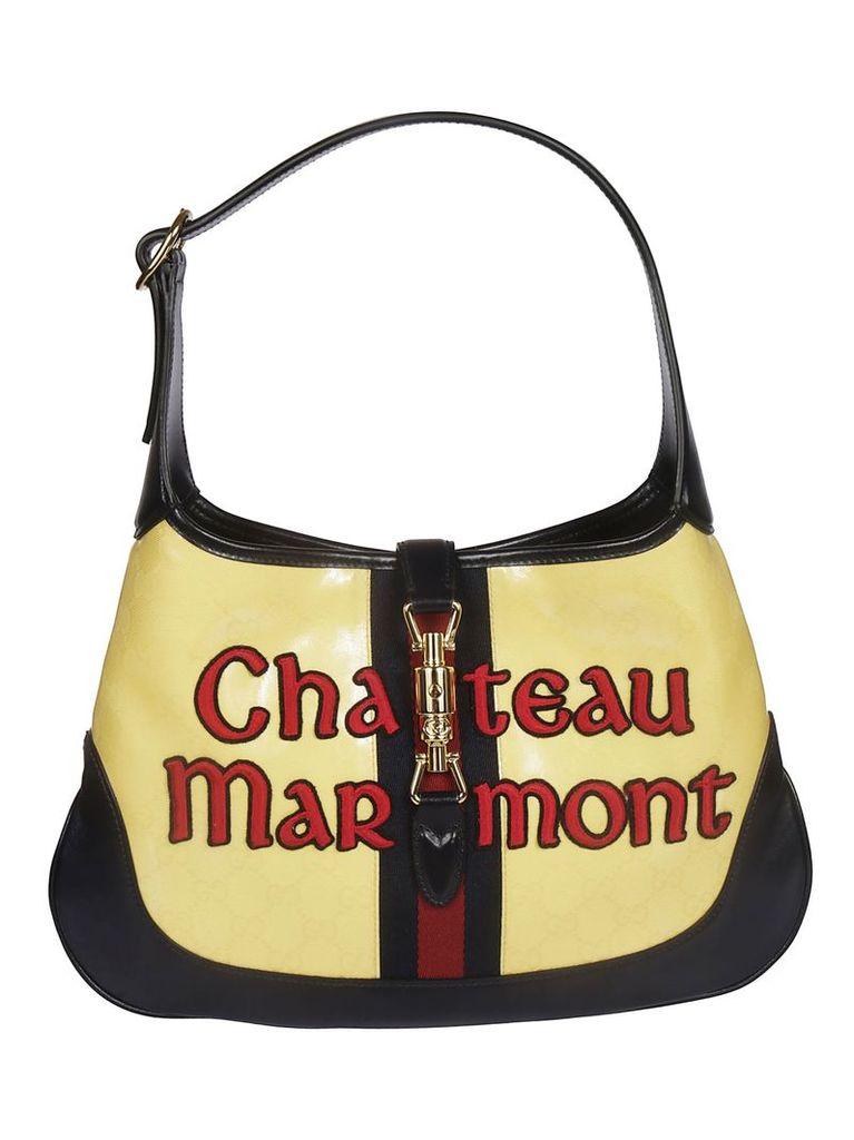Gucci Jackie Flora Hobo Bag