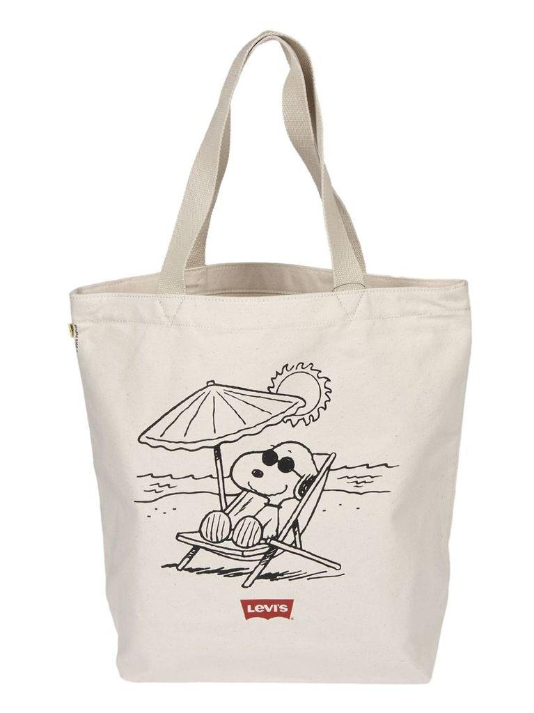 Levi's Snoopy Print Shopper Bag