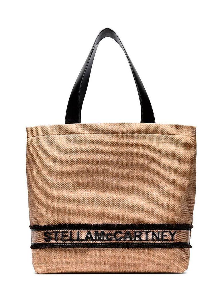 Stella McCartney Braided Tote Bag