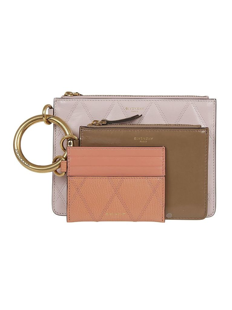 Givenchy Quilted Trio Pouch
