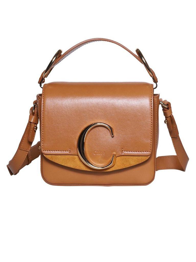 Chloé C Logo Mini Shoulder Bag