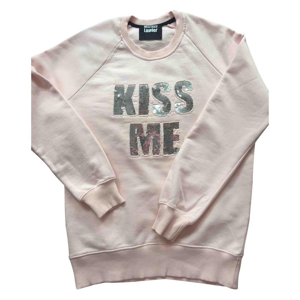 Pink Cotton Knitwear