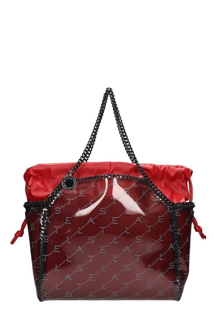 Stella McCartney Red Pvc Falabella Reversible Tote Bag