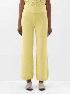 Alexandre Vauthier - Plunge V Neck Sequinned Gown - Womens - Yellow