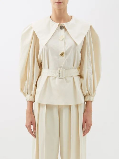 Vetements - Inside Out Satin Blazer - Womens - Black