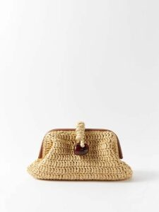 Ace & Jig - Ellen Open Back Striped Cotton Dress - Womens - Green