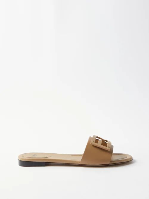 Gucci - Horsebit Embellished Pleated Wool Blend Skirt - Womens - Navy