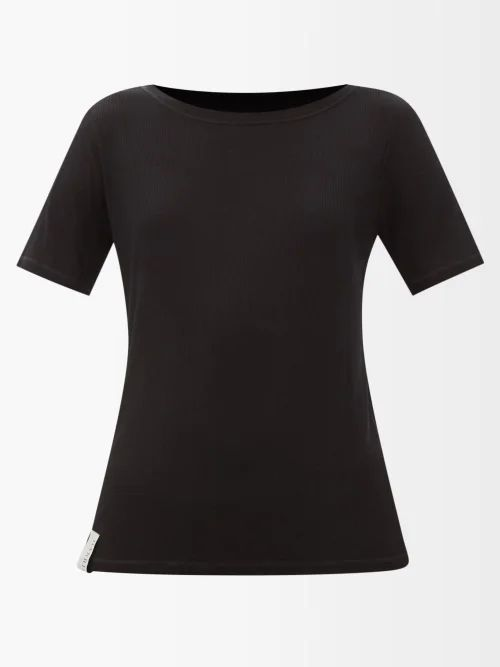 Temperley London - Lullaby Single Breasted Silk Chiffon Coat - Womens - Black