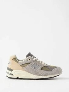 Chopova Lowena - Floral Embroidered Pleated Wool Blend Skirt - Womens - Black Multi