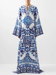 Chloé - Stretch Twill Longline Blazer - Womens - Brown