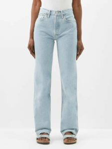 Chopova Lowena - Floral Embroidered Wool And Technical Fabric Skirt - Womens - Black Multi
