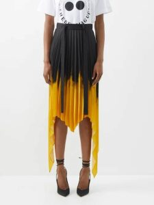 Burberry - Double Breasted Cotton Gabardine Trench Coat - Womens - Black
