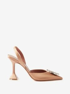 Bottega Veneta - Hawaiian-print Twill Skirt - Womens - Ivory Multi
