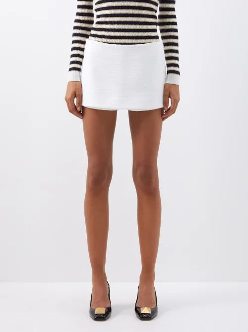 Prada - Sybille Leather Cross Body Bag - Womens - Black