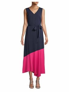 Eclipse Colorblock Midi Dress