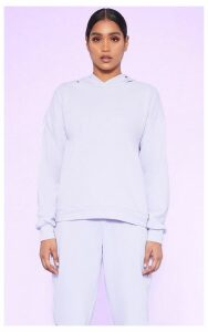 RECYCLED Pale Violet Oversized Hoodie, Pale Violet