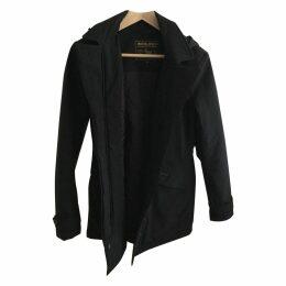 Black Synthetic Coat