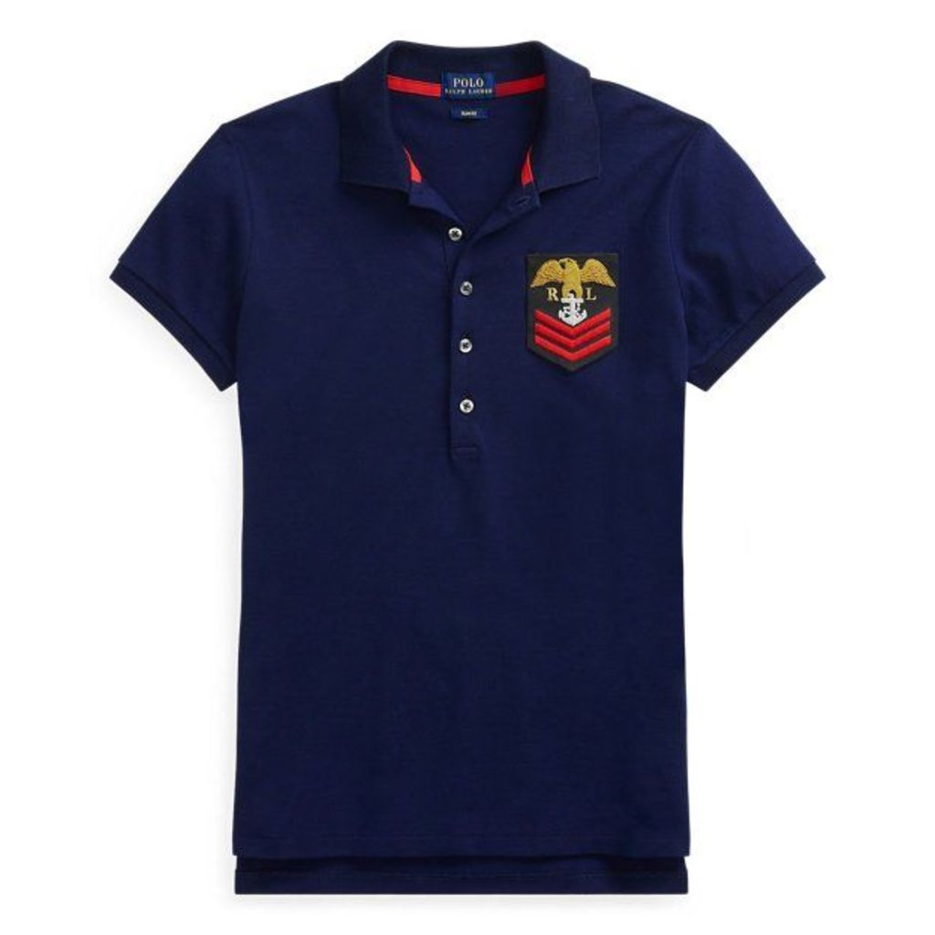 Slim Fit Crest Polo Shirt