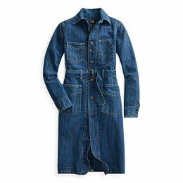 Herringbone Twill Shop Coat