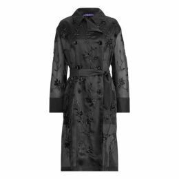 Bennett Embellished Silk Coat