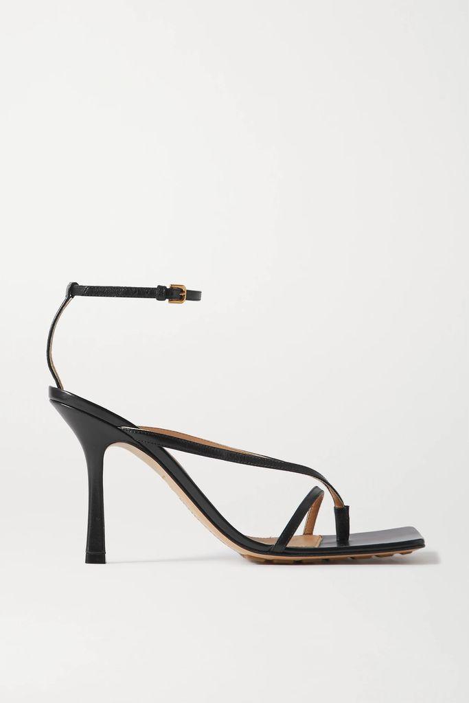 Valextra - Iside Mini Linen And Textured-leather Shoulder Bag - Beige